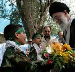 Imam Ali Khamenei & Basij