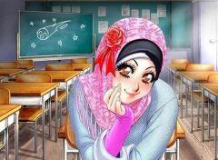 hijab anime-girls