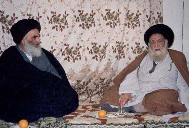 Ayatollah Al Khoi And Ali Al Sistani